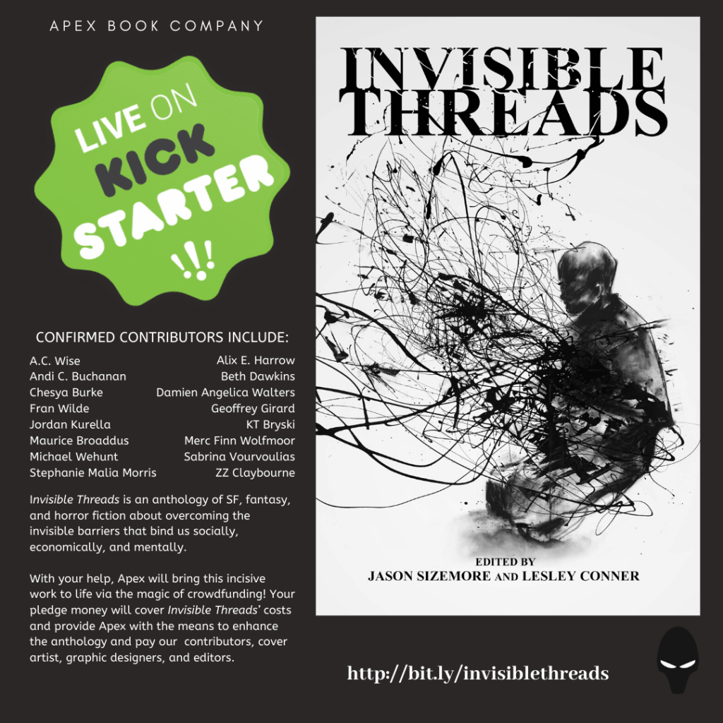 Invisible Threads Live on Kickstarter